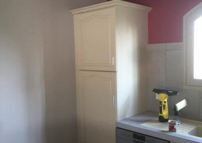 Aperçu de la colonne du réfrigérateur après rénovation
