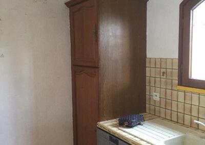 Aperçu de la colonne du réfrigérateur avant rénovation