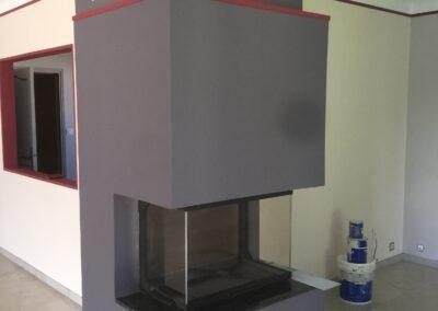 Rénovation d'une cuisine et d'un salon à Cadaujac